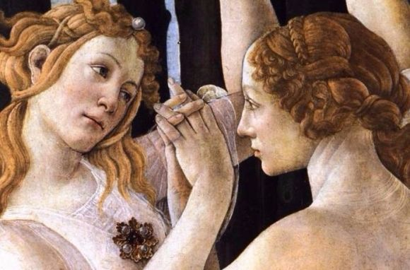 botticelli le printemps detail s copie
